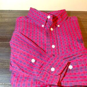 Chaps long sleeve boy's shirt